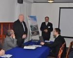 Konferencja 2011 - rozpoczęcie Prodziekan Wydziału Zarządzania - prof. Eugeniusz Sitek